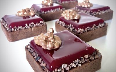 TARTE CHOCOLAT FIGUE DE BARBARIE
