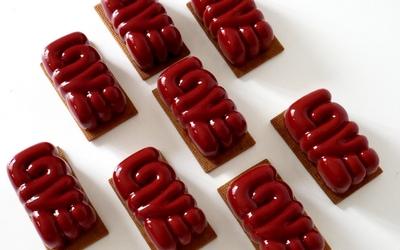 ENTREMETS FRUITS ROUGES CHOCOLAT NOIR