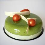 ENTREMET PISTACHE FRUITS DE LA PASSION